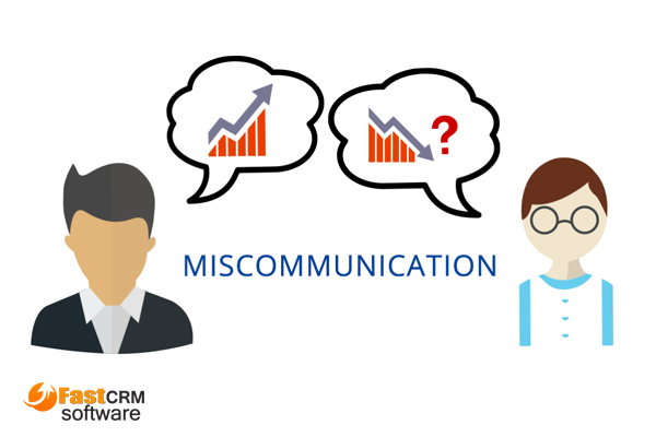 miscommunication with customer